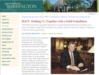 Barrington Quintessential Article